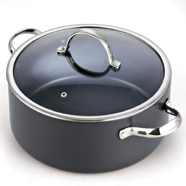 Cooks Standard 02490 Hard Anodized Aluminium Nonstick 7-quart Dutch Oven