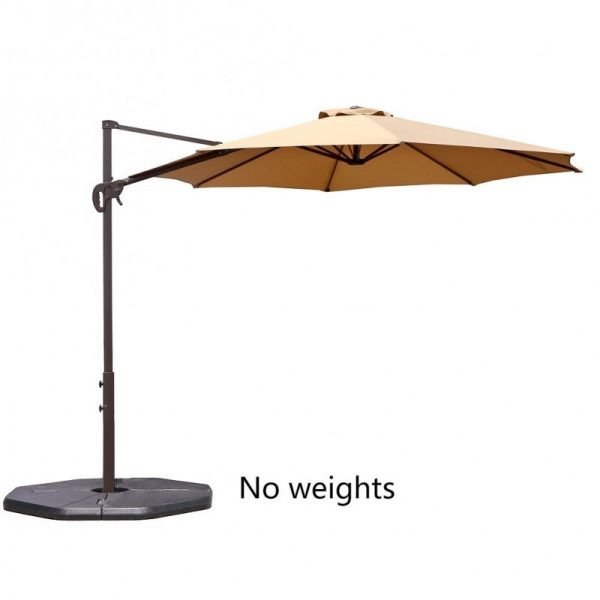 Le Papillon 10-Foot Cantilever Umbrella Outdoor Offset Patio Umbrella