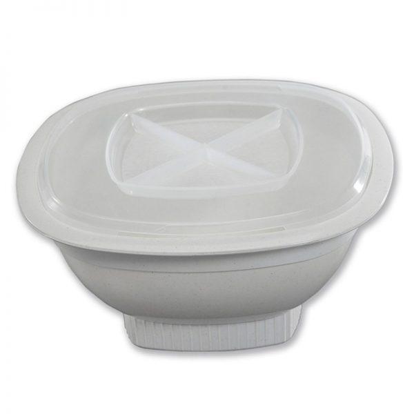 Nordic Ware White Microwave Popcorn Popper