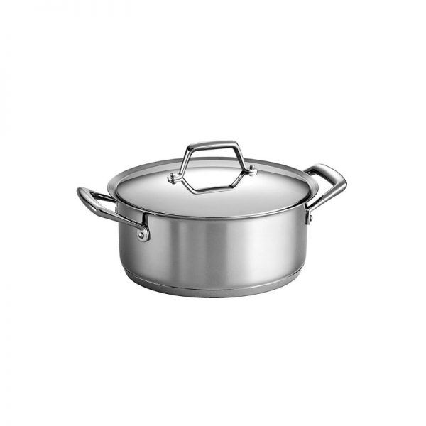Tramontina Prima 5-Quart Stainless Steel Dutch Oven