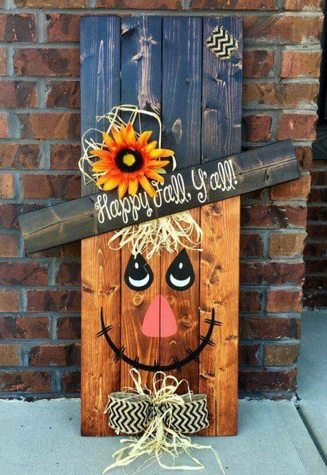 27 Creative Fall Pallet Projects for Decorating Your Home ...