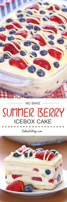 summerberry easy dessert recipes