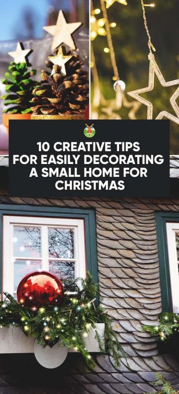 decorating a small home for christmas credit image