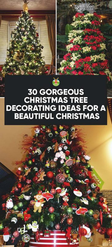 Beautiful Christmas Decorations Tree Decoration Ideas.30 Gorgeous Christmas Tree Decorating Ideas You Should Try