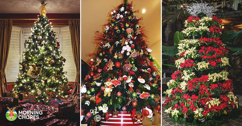 How To Decorate A Christmas Tree Professionally With Ribbon.30 Gorgeous Christmas Tree Decorating Ideas You Should Try