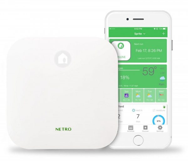 Netro Smart Wi-Fi Sprinkler Controller