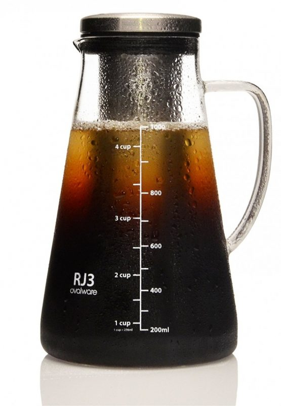 Ovalware 1.0L Iced Coffee Maker and Tea Infuser:Maker