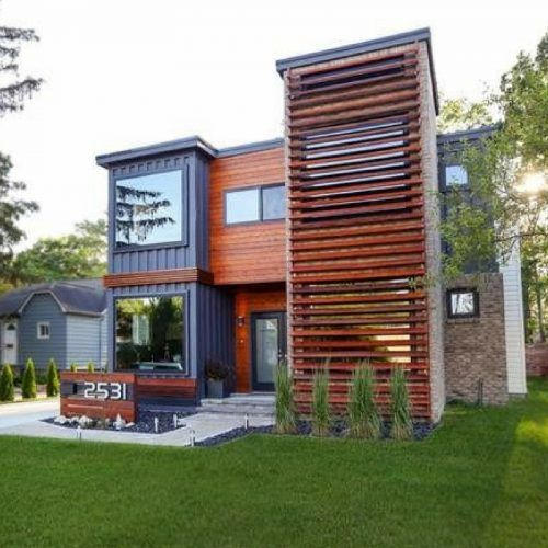 Home Design Ideas Build: 10 Amazing Shipping Container Home Designs To Make You Wonder
