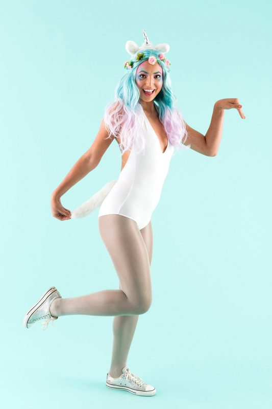 404b726affd4 Apparently unicorn costumes are the most pinned Halloween idea on Pinterest  this year.