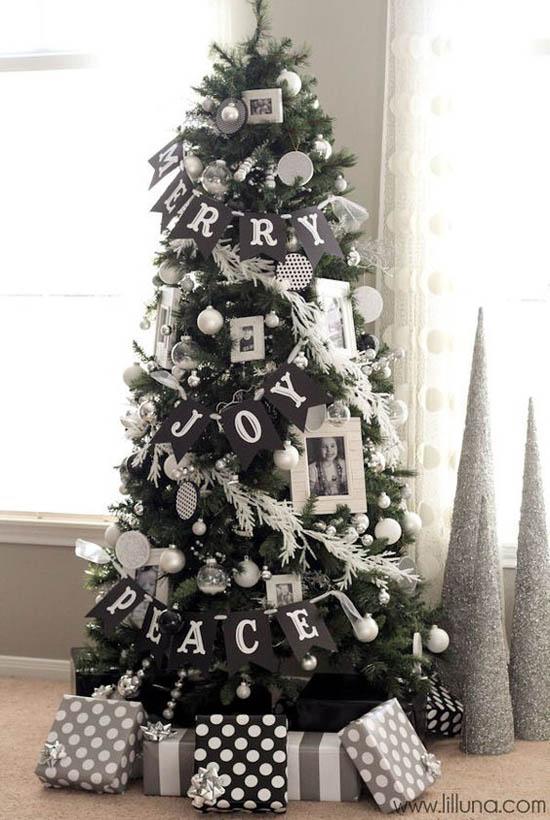 Modern Christmas Tree Decorating.30 Gorgeous Christmas Tree Decorating Ideas You Should Try This Year
