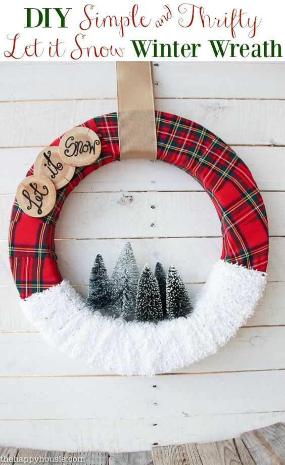 33 Gorgeous Diy Christmas Wreath Ideas To Decorate Your