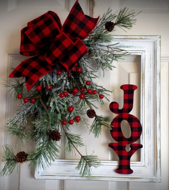 Rustic Christmas Wreath Diy.33 Gorgeous Diy Christmas Wreath Ideas To Decorate Your