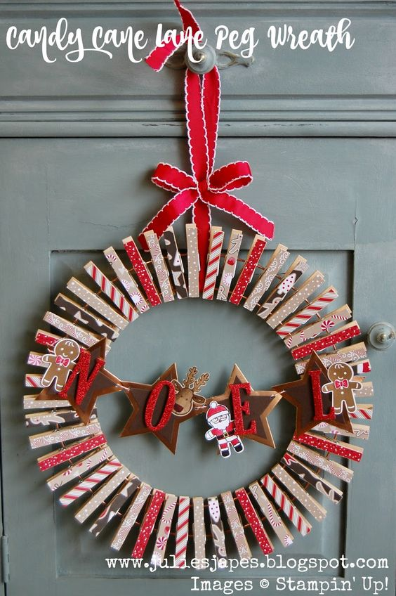 Christmas Ribbon Wreaths.33 Gorgeous Diy Christmas Wreath Ideas To Decorate Your