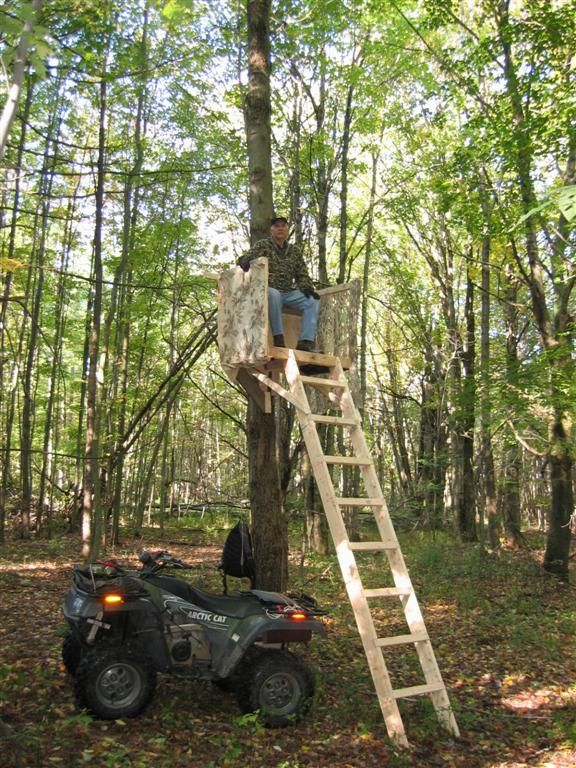 Hunting Stand Designs : 20 free diy deer stand plans and ideas perfect for hunting season