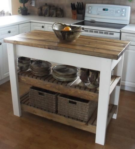 25 Gorgeous Diy Kitchen Islands To Make Your Kitchen Run