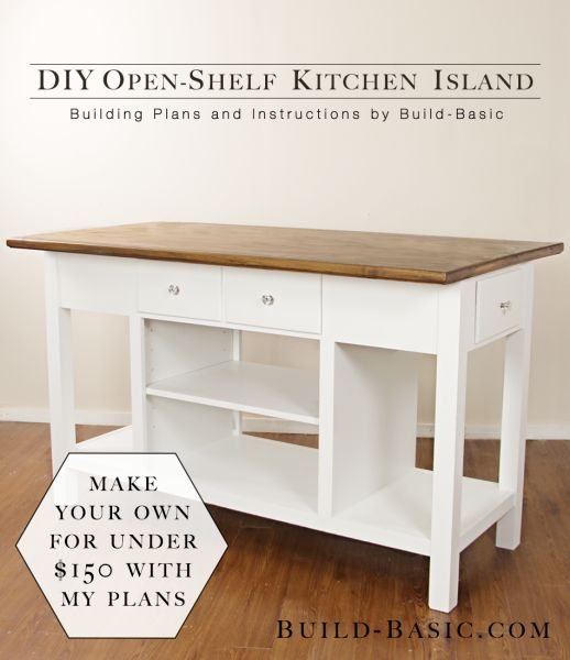 25 Gorgeous DIY Kitchen Islands to Make Your Kitchen Run ...