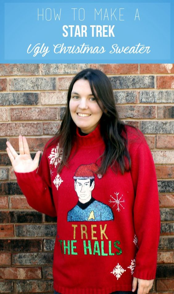 04c61d8a67c6 ... really love certain TV shows. For me, I'm a huge Matlock fan. For some,  it is Star Trek. If you are a Star Trek fan, then you'll love this sweater.