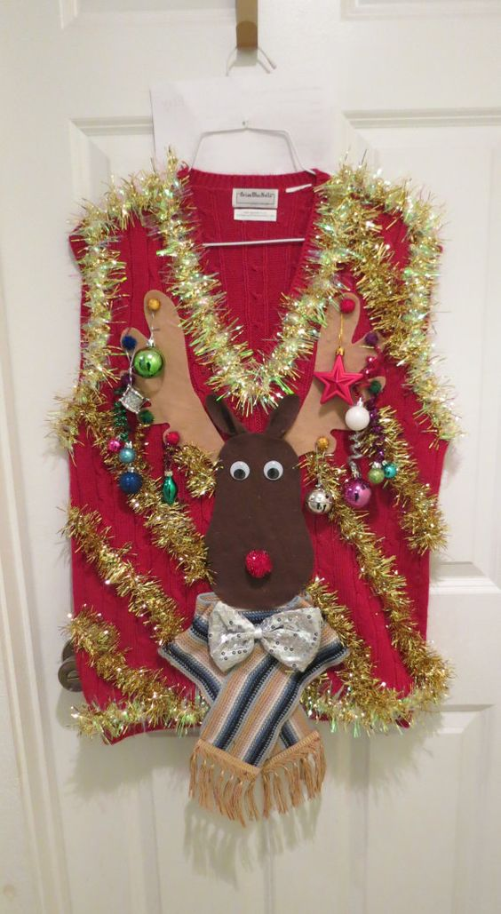 74 Ugly Christmas Sweater Ideas So You Can Be Gaudy And