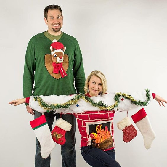 Tacky Christmas Outfits.51 Ugly Christmas Sweater Ideas So You Can Be Gaudy And Festive
