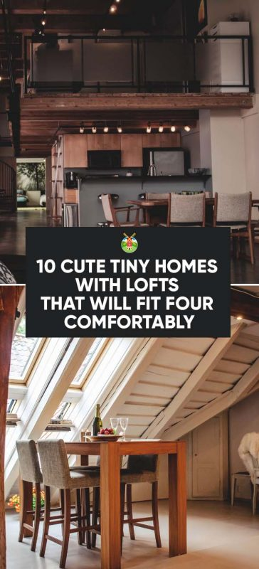 tiny homes with lofts
