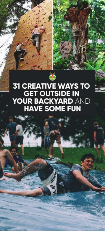 31 Fun Backyard Activities You and Your Family Will Enjoy