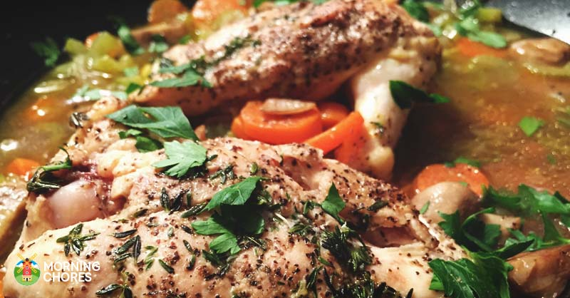 Simple yet delicious chicken stew recipe that will warm for Simple yet delicious dinner recipes