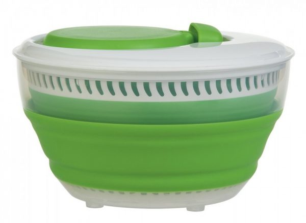 Progressive CSS-2 3-quart Green Collapsible Salad Spinner