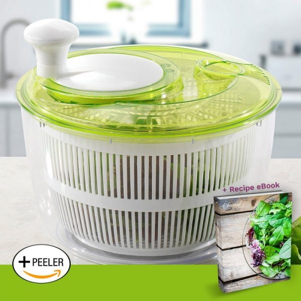 Savant Kitchen Jumbo Salad Spinner
