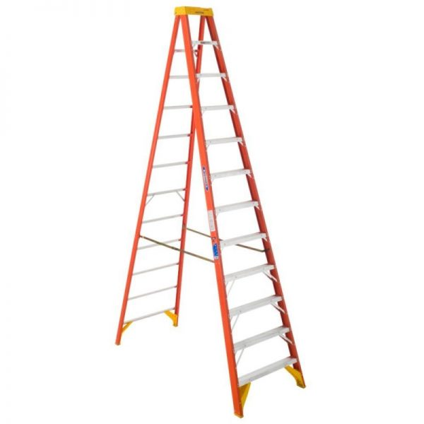 Werner 6212 300lbs 12-Foot Type IA Fiberglass Stepladder