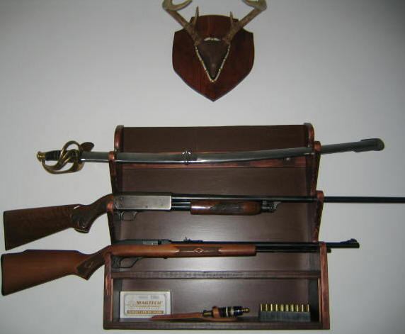Wayne Of The Woods Basic Gun Rack