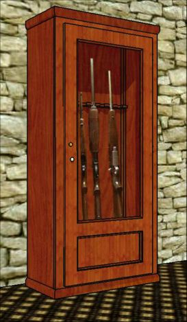 21 Interesting Gun Cabinet And Rack Plans To Securely Store