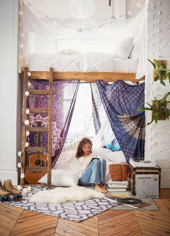25 Diy Loft Beds Plans Amp Ideas That Are As Pretty As They