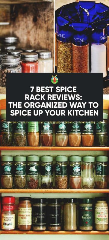 7 Best Spice Rack Reviews The Organized Way To Spice Up Your Kitchen