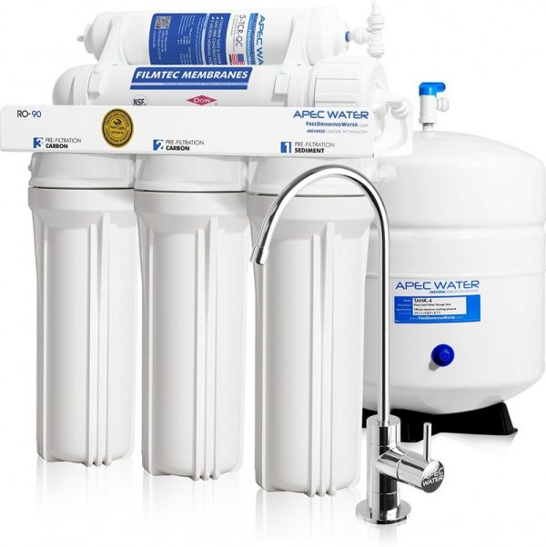 APEC Reverse Osmosis Drinking Water Filter System (ULTIMATE RO-90)