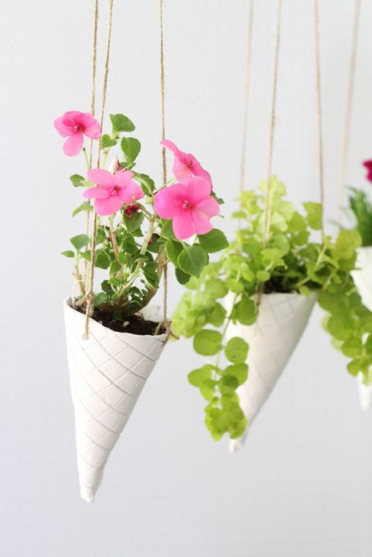 diy indoor hanging planters