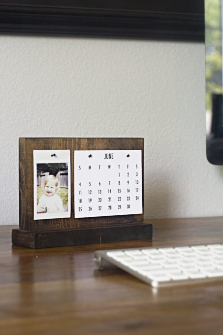 Modern DIY calendar