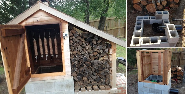 Do It Yourself House Plans: 23 Awesome DIY Smokehouse Plans You Can Build In The Backyard