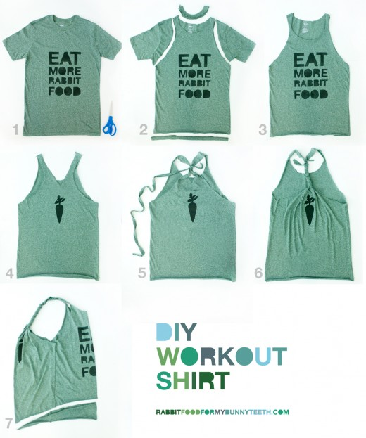 e5d5e6cb So you like the T-shirt but just want to do something different with it?  Over at Rabbit Food for my Bunny Teeth, the author shows you how to take  the said ...