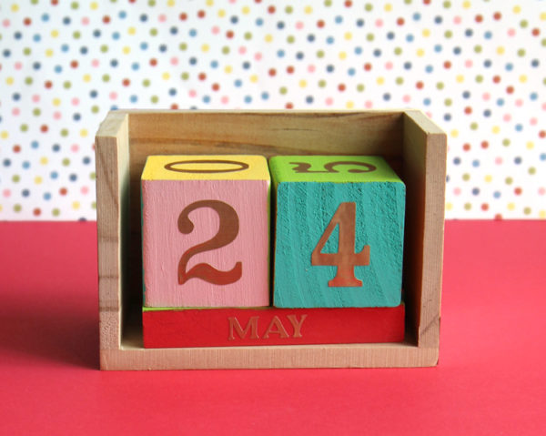 Block DIY Calendars