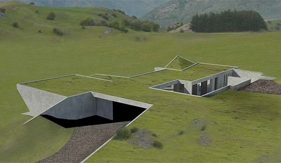 House Built Into Hill >> 23 Unique And Functional Underground Houses That Will Amaze You