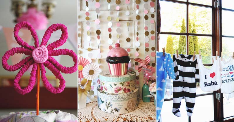 21 Diy Baby Shower Decorations To Surprise And Spoil Any New Mom To Be