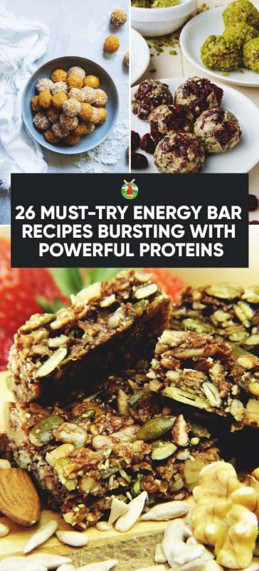 energy bar recipes