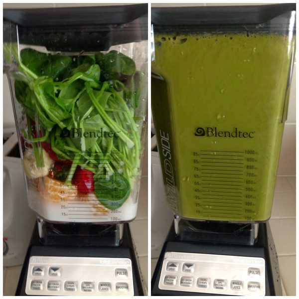 Blendtec-smoothies