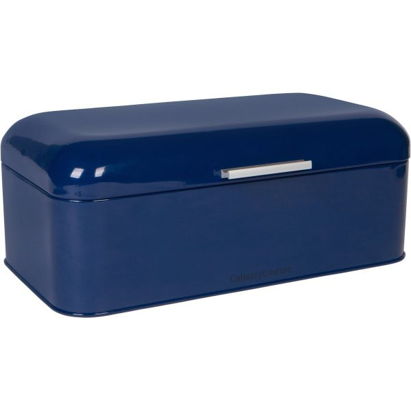 Culinary Couture Large Blue Breadbox