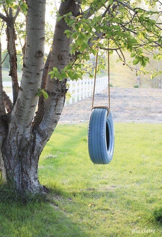 12 Fun Tire Swing Ideas To Make Your Backyard Better Than