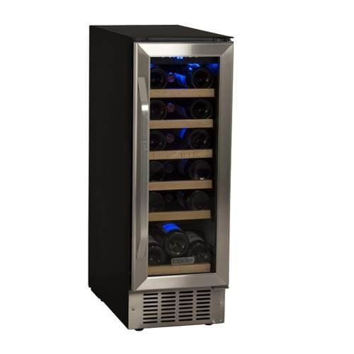 EdgeStar 12-inch 18 Bottle Single-Zone Built-In Compressor Wine Cooler