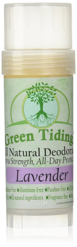 Green Tidings All Natural Solid Lotion Bar Deodorant