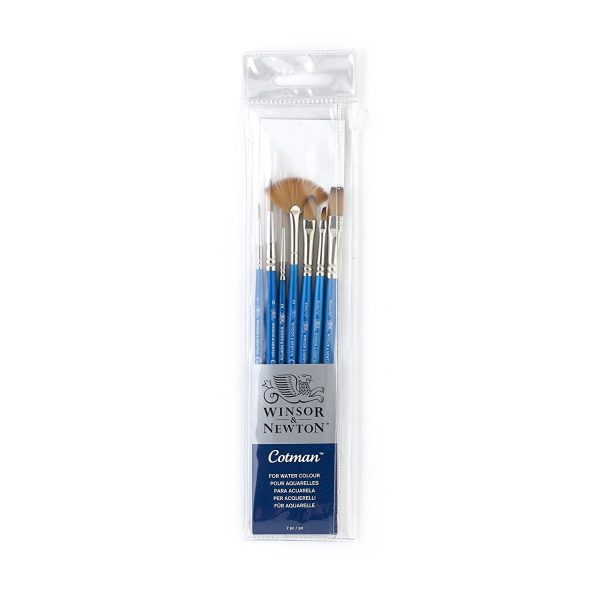 Winsor & Newton Cotman Short Handle Brush (7 Pack)