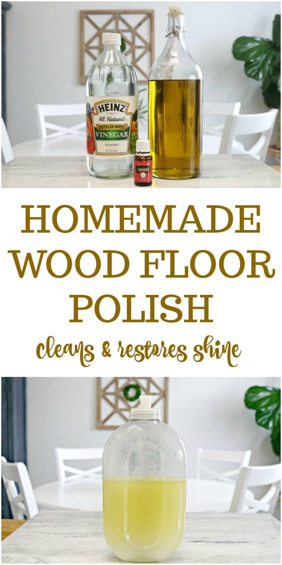 homemade floor cleaners