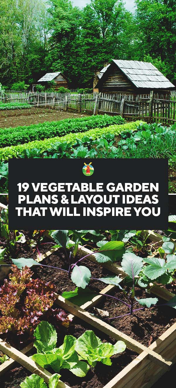 19 vegetable garden plans layout ideas that will inspire